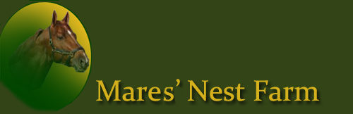 Mares' Nest Farm Sales